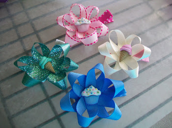 Sweet treats ribbon blossoms