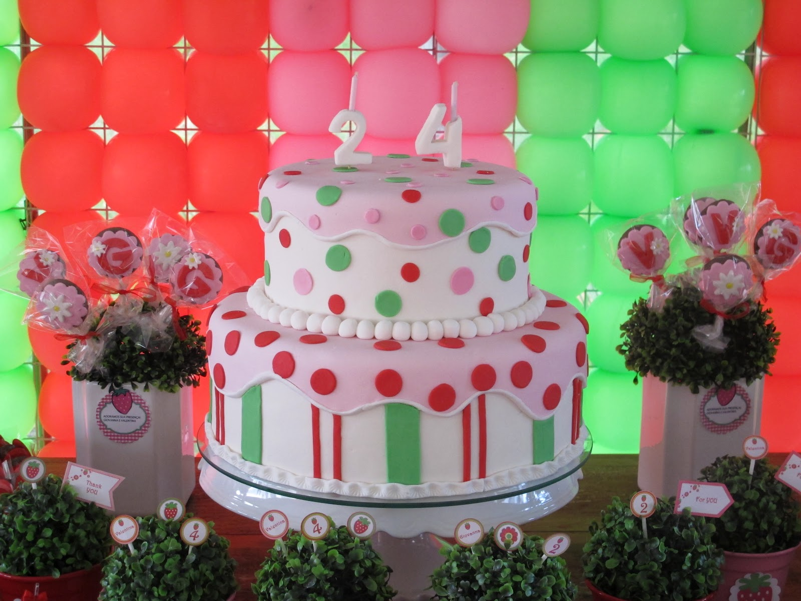 Perfect Party: Cumple temático de Frutillitas - Strawberry ...