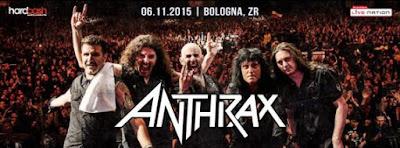 Anthrax - bologna - 2015