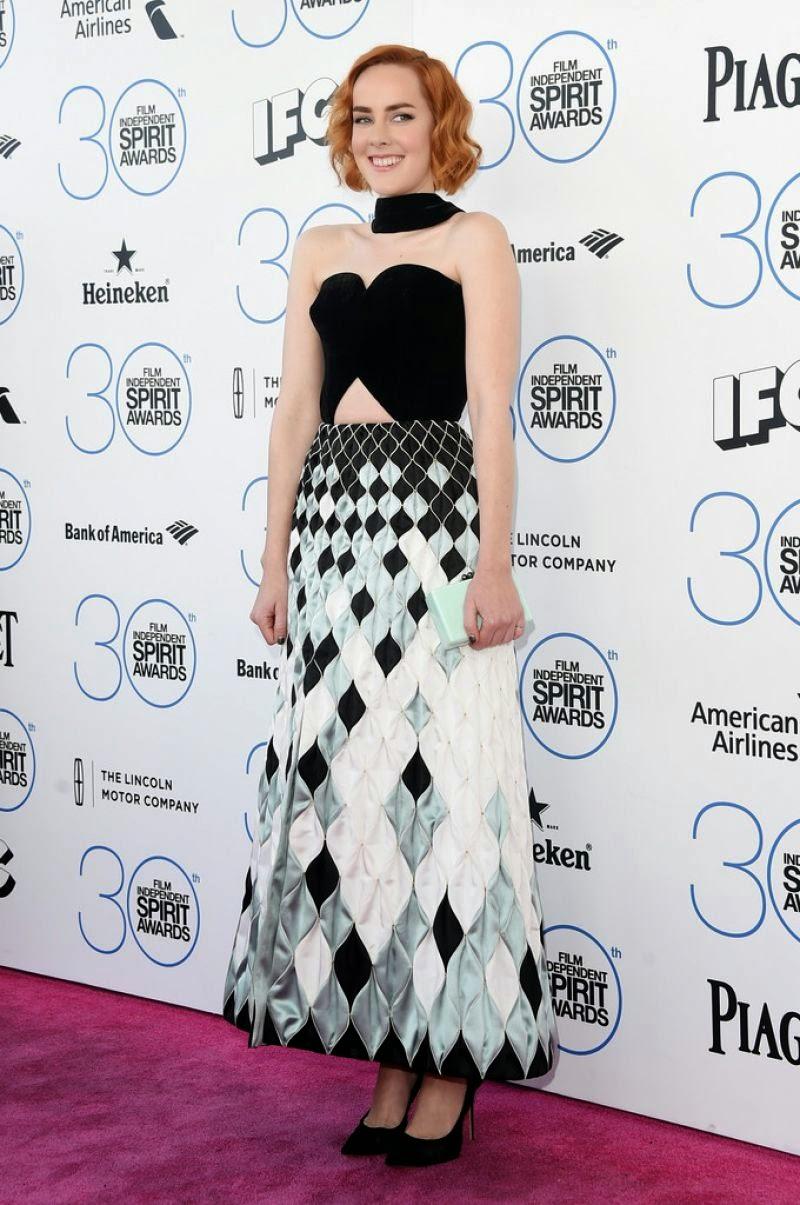 Actress, Musician: Jena Malone - 2015 Film Independent Spirit Awards in Santa Monica