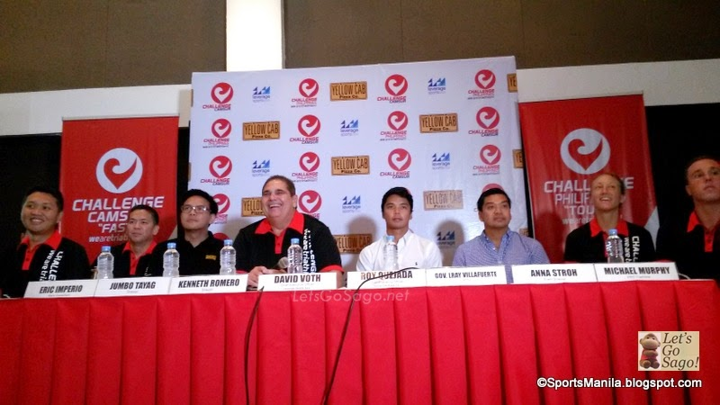 Challenge Philippines Camsur Press Conference