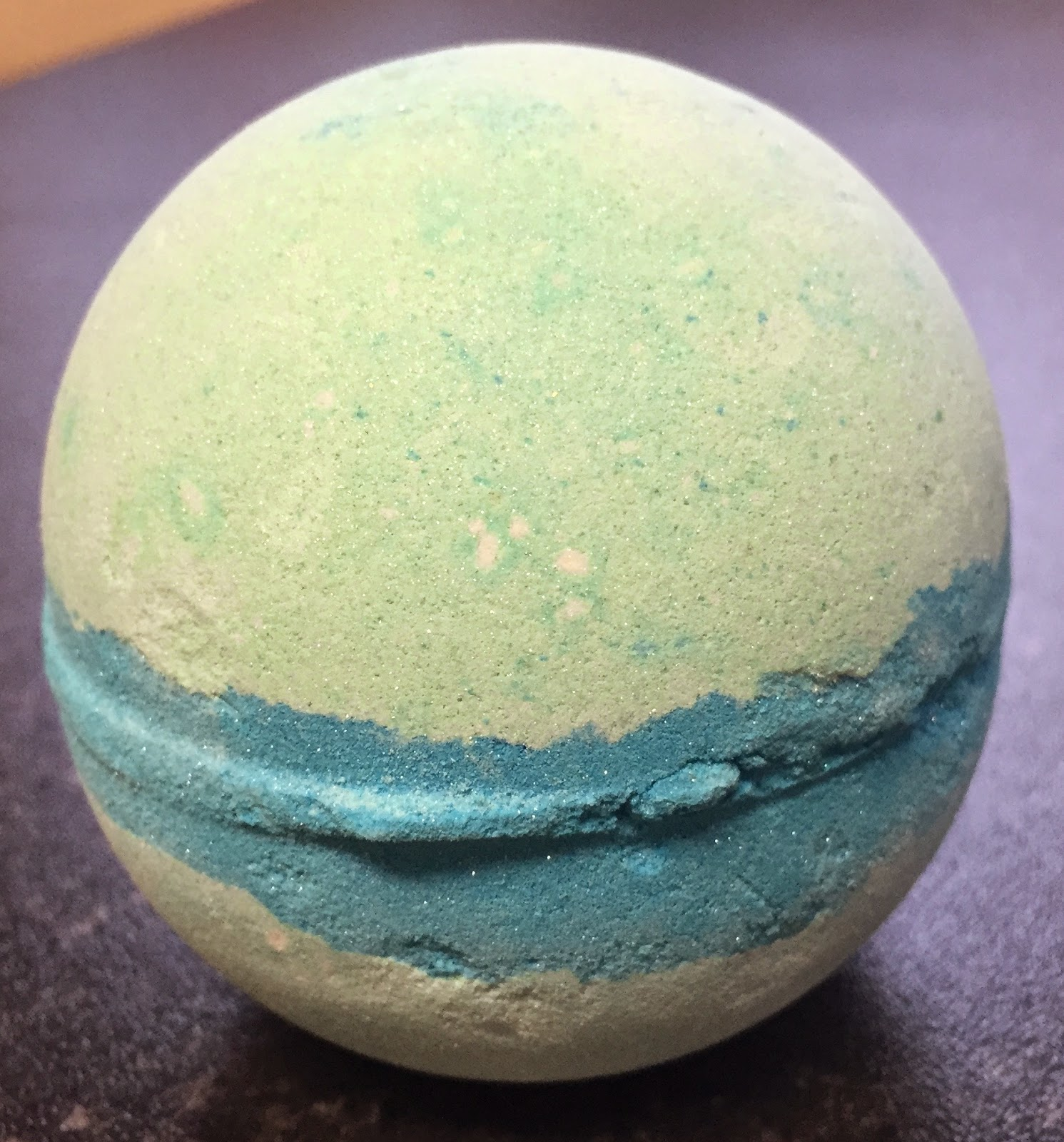 All Things Lush UK Frozen Bath Bomb
