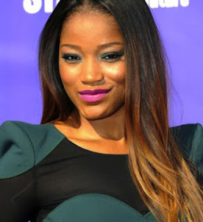 Keke Palmer Gradient Hair