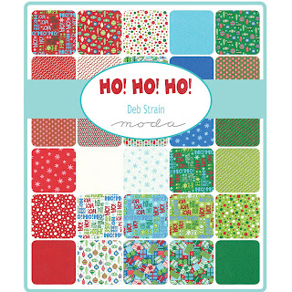 Moda HO HO HO Fabric by Deb Strain for Moda Fabrics