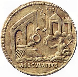 Medaglione evocante la leggenda (II sec.d.C)