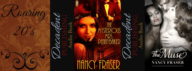 {Feature & Giveaway} The Mysterious Mrs. Pennybaker & The Muse  by Nancy Fraser