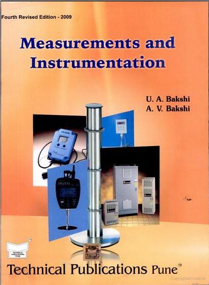 measurement and instrumentation pdf bakshi