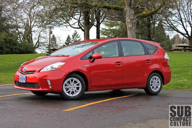 2012 Toyota Prius v - Subcompact Culture