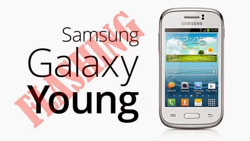 Cara Flashing Samsung Galaxy Young GT S6310 Jelly Bean