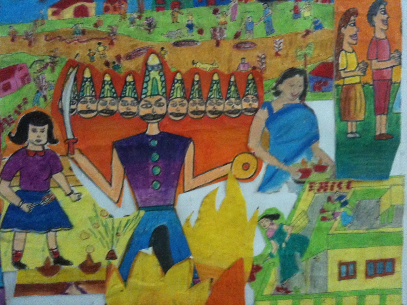 Dussehra Paintings