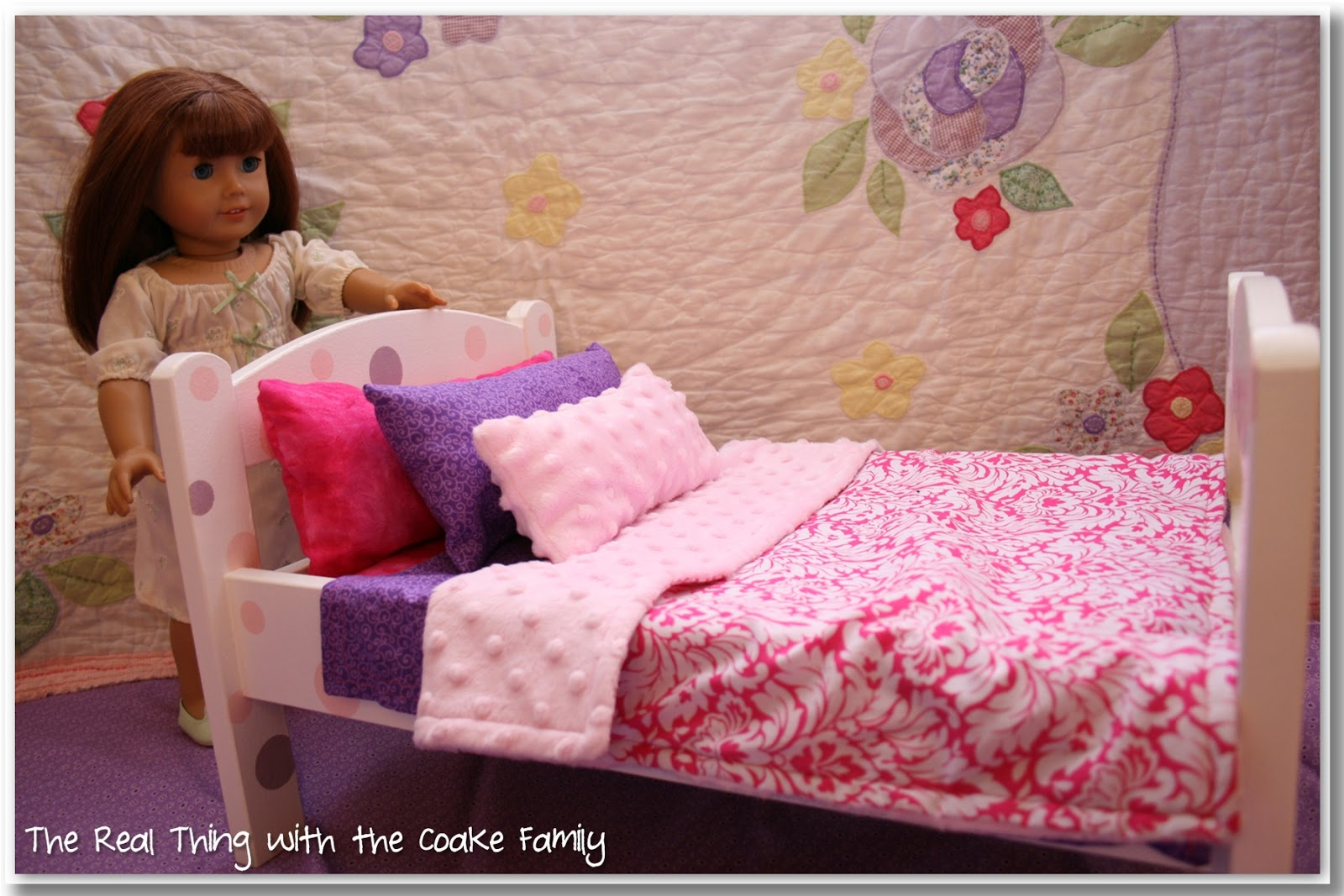 Bed sheet patterns for sewing - Free American Girl Doll Bedding Pattern Sewing Pattern Very Simple And Will Easily Re