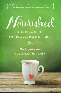 Enter now! Book Review and Giveaway; Nourished