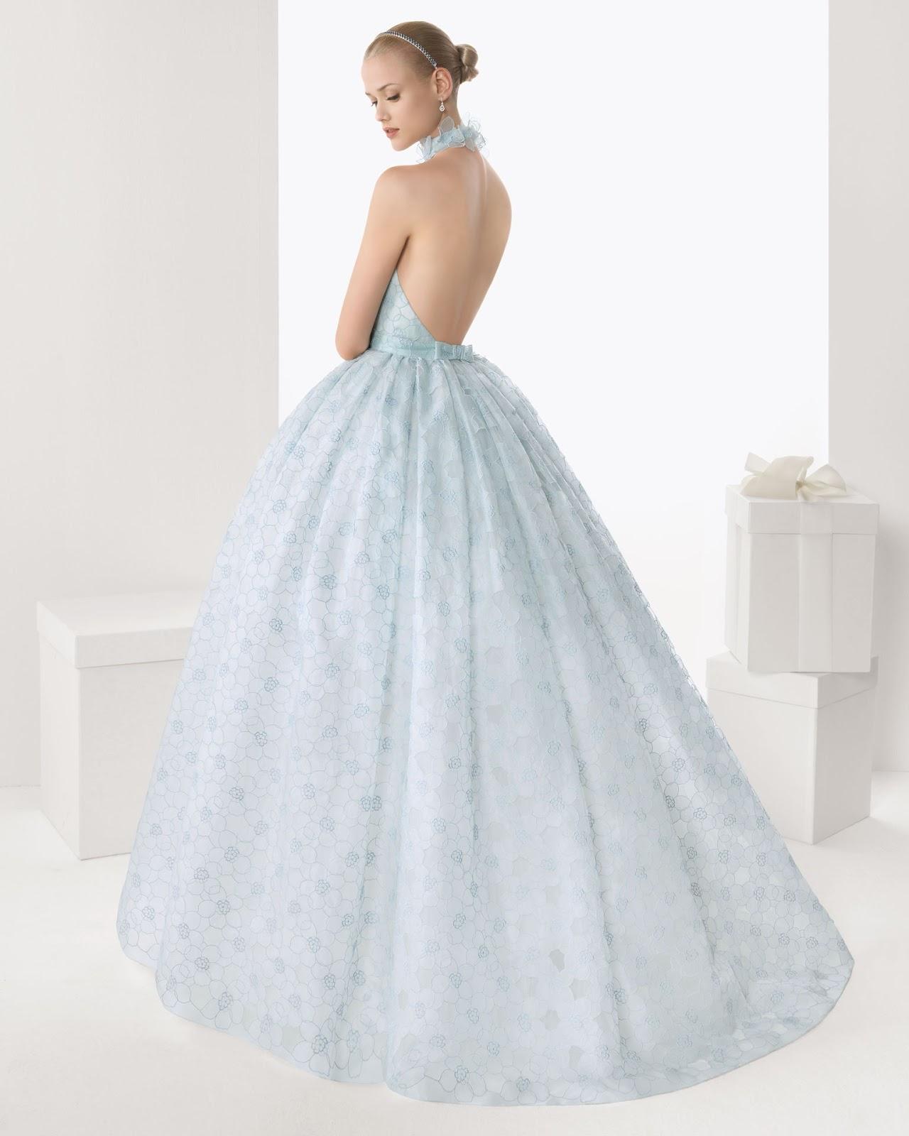 Vestidos de novia y sus complementos.