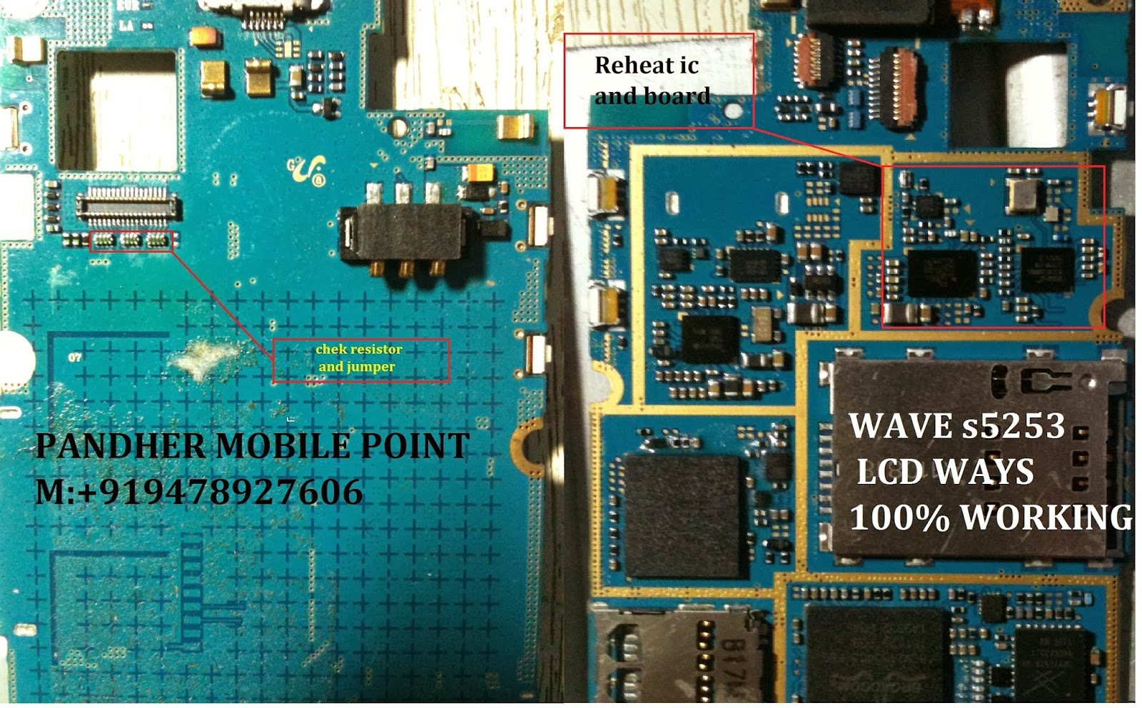 Samsung Wave S5253 Lcd Ways