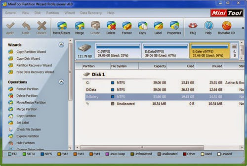 MiniTool Partition Wizard Professional with serial key