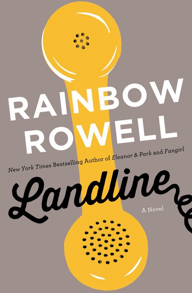 landline by rainbow rowell book cover image large hd hq new release adult romance fantasy