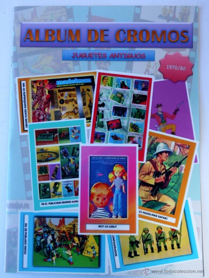 LIBRO - ALBUM DE CROMOS