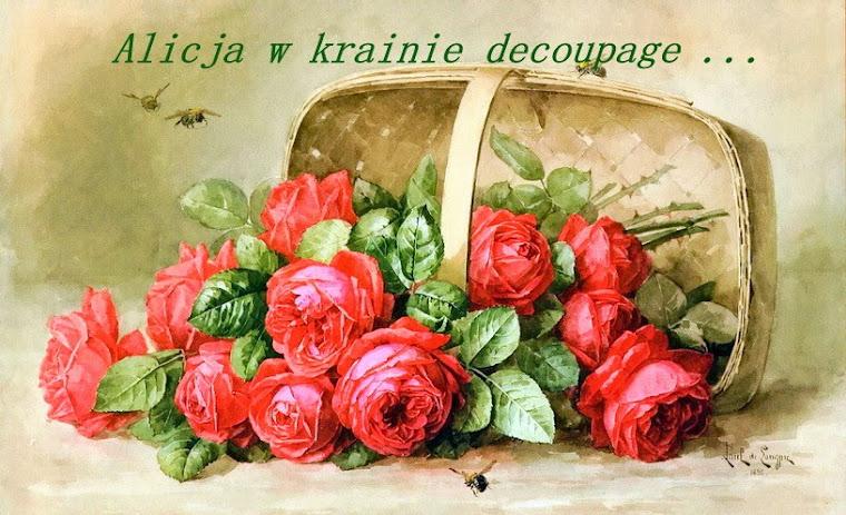 Alicja w Krainie Decoupage...