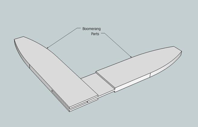 Boomerang Outline
