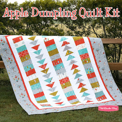 Fat Quarter Shop Apple Dumplings Quilt Kit