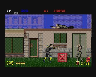 Saiu também uma versão para o Amiga, mas os controles são truncados
