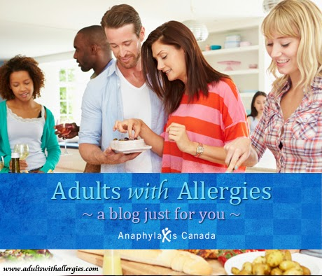 food allergy counseling: adults with allergies blog, anaphylaxis canada