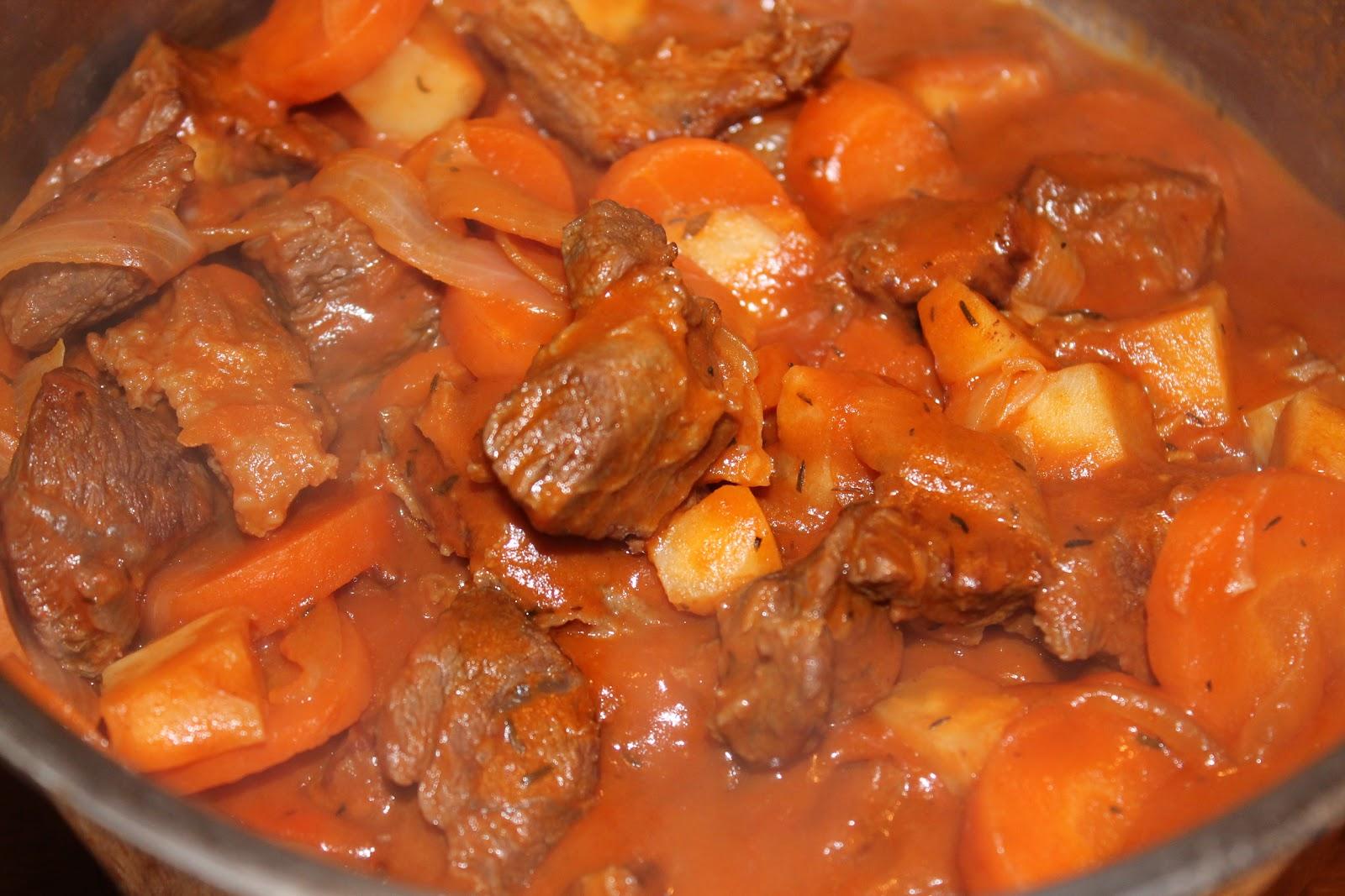 Ragoût de bœuf