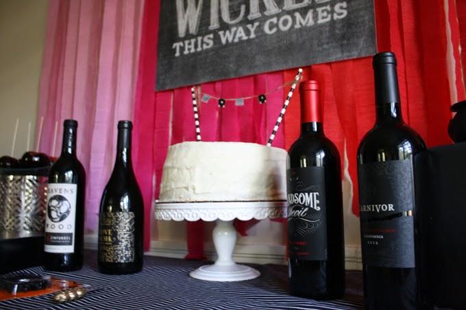 host a halloween wine tasting