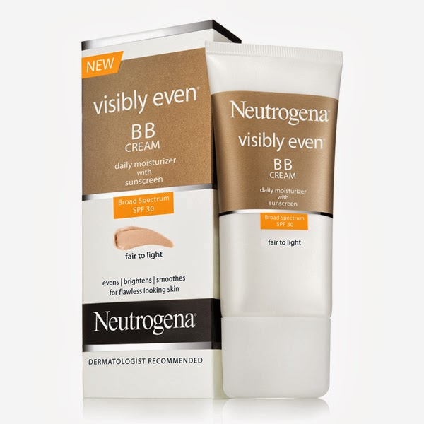 NEW Neutrogena Visibly Even BB Cream SPF30