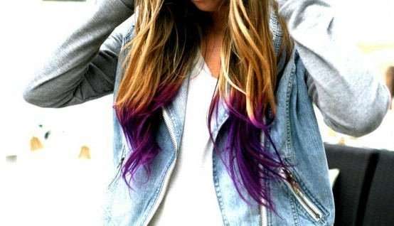 Like the way mix of Blue, Pink and Purple.