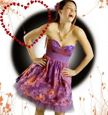 imagen amor+mujer+enamorada+corazon