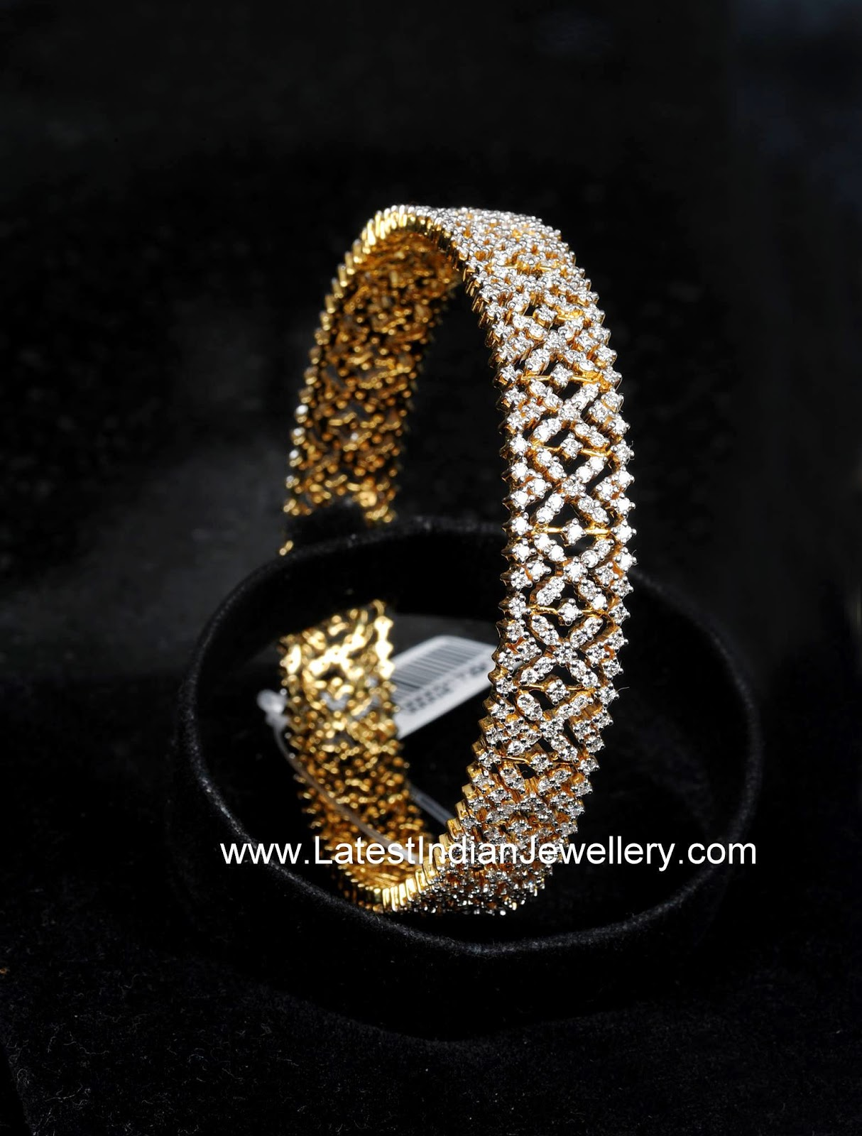 Indian Diamond bangle Design