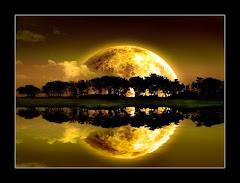 Una hermosa luna