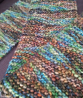Free Knitting Pattern: Yet another short row scarf