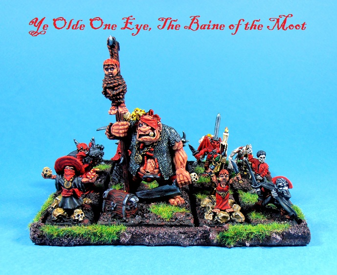 Yee Olde One Eye, The Baine of the Moot.