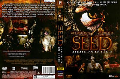 Filme Seed - Assassino Em Série DVD Capa