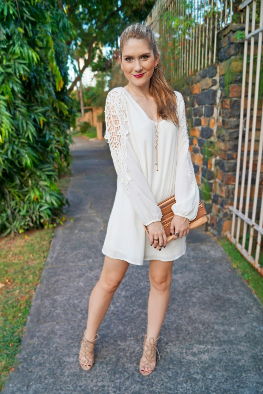 The Joy Of Fashion {Outfit} Loose And Comfy White Summer Dress