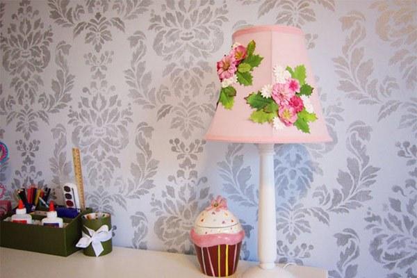bisa membuatnya sendiri di rumah anthropologie inspired flower lamp ...