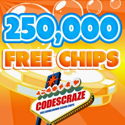 Promo codes for free chips on doubledown casino