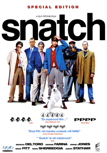 Filme Snatch Porcos e Diamantes Dublado AVI BDRip