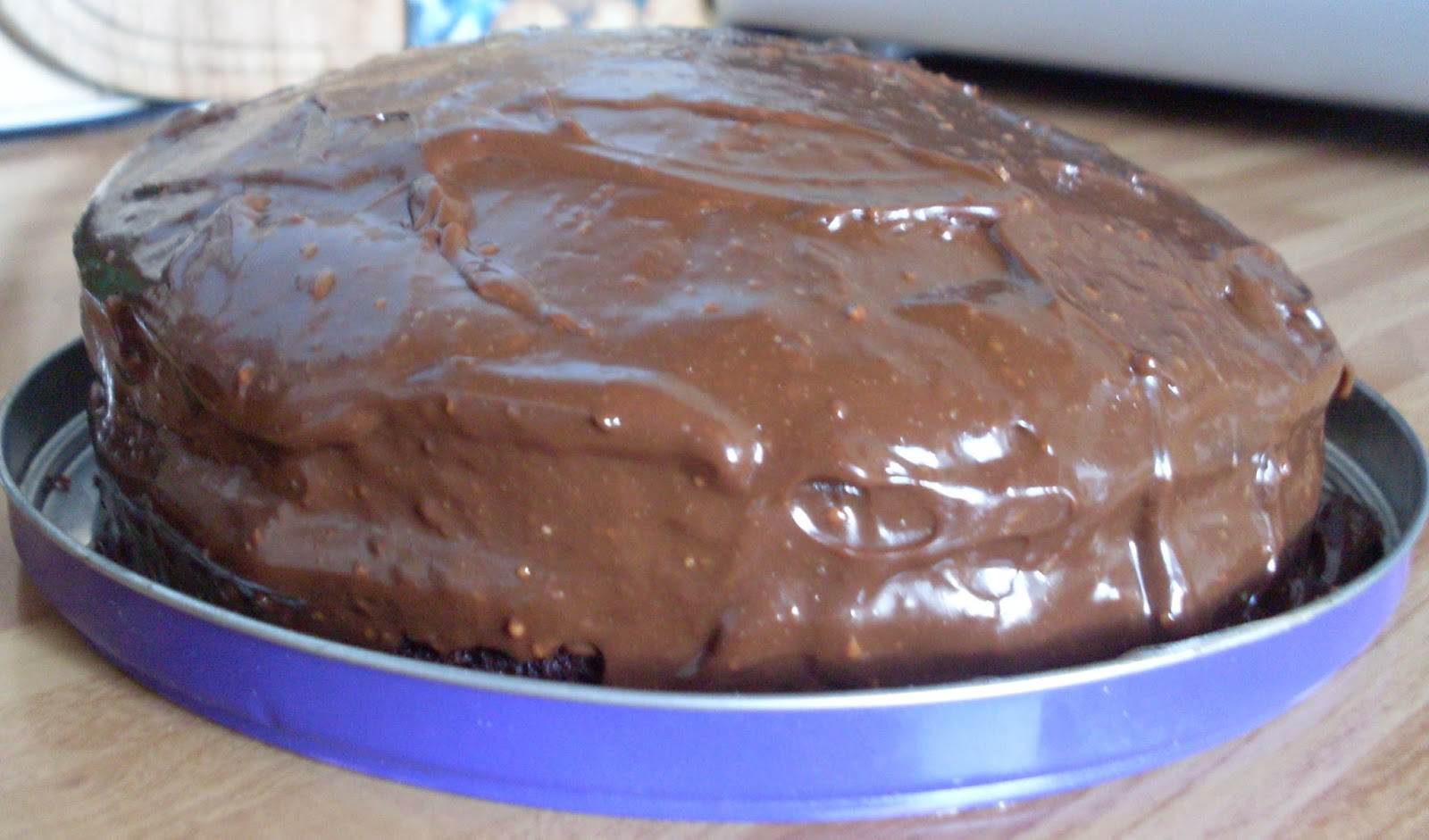 Carnation Caramel Chocolate Fudge Cake