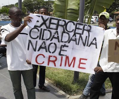 Angola: Líder da manifestação de sábado está detido em esquadra dos arredores de Luanda