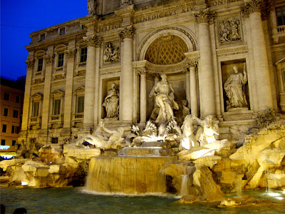 roma fontana trevi