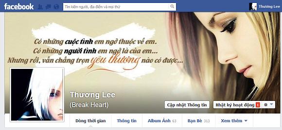 Ảnh bìa facebook girl buồn đẹp và ý nghĩa nhất