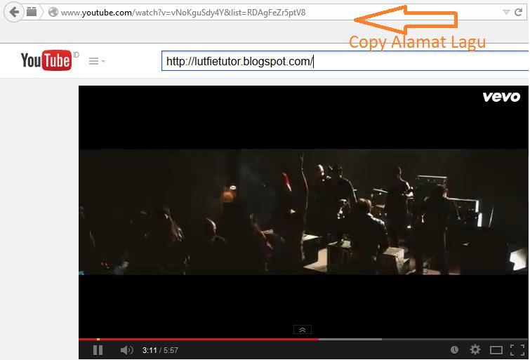 Conver MP3 Dari Youtube