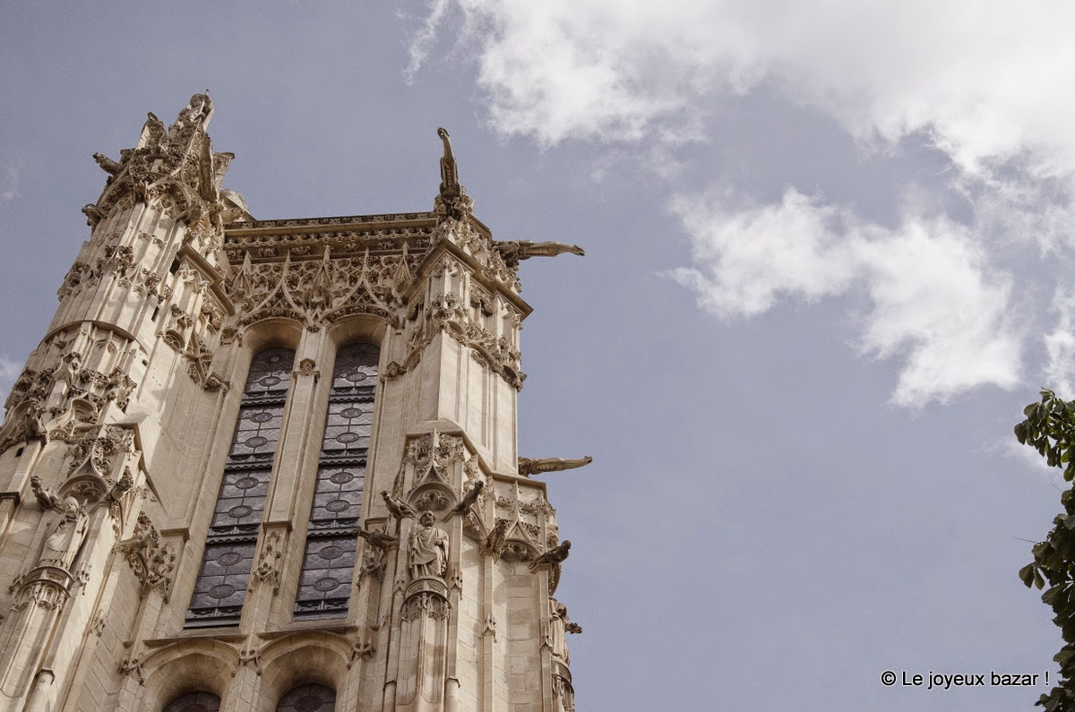Paris - tour saint jacques - visite