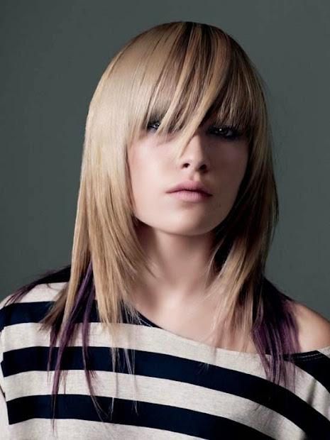 latest women hair styles funky