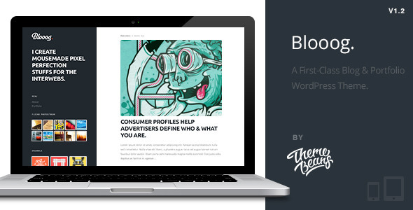 ThemeForest - Blooog | Premium Blog & Portfolio Theme