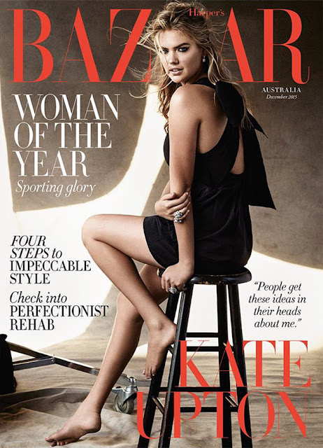 Actress, Model @ Kate Upton - Harper's Bazaar Australia, December 2015