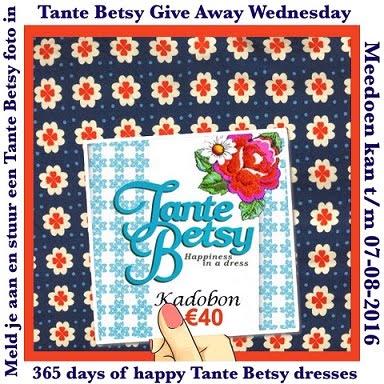 Give away cadeaubon Tante Betsy